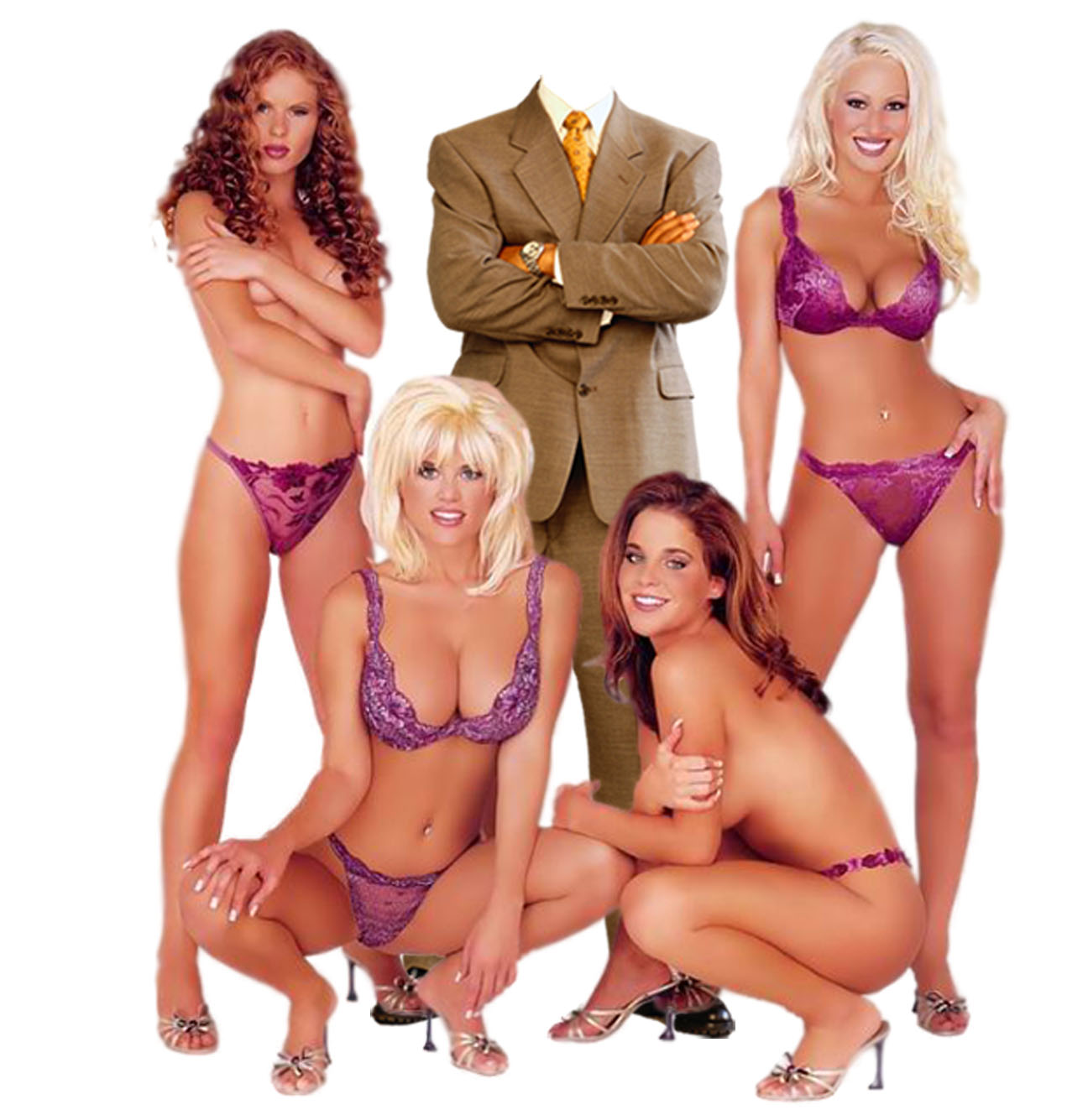 Три девицы и мужик 21 фотография